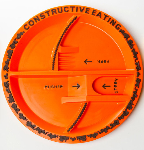 Constructive Eating - Construction Plate - 72000