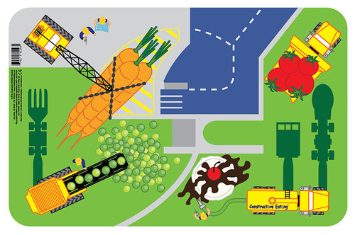 Constructive Eating - Construction Worksite Placemat - 41000