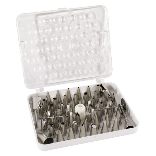 Johnson-Rose - 55 Piece Stainless Steel Decorating Set - A783