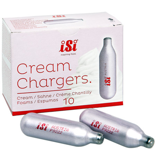 iSi Culinary - Cream Chargers, Pack of 10 - 77CA