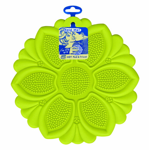 Talisman Designs - Green Lily Hot Pad and Trivet