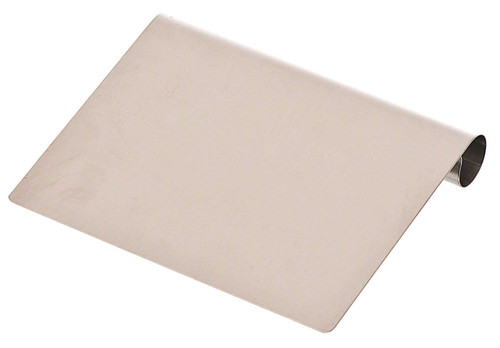 "Browne - 6"" Stainless Steel Dough Scraper - 181SS"