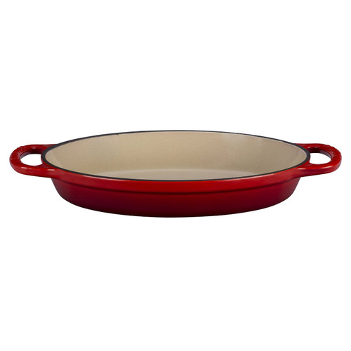 Le Creuset 2.1L (2.25QT) Cherry Cast Iron Signature Oval Baker - LS2088-3267