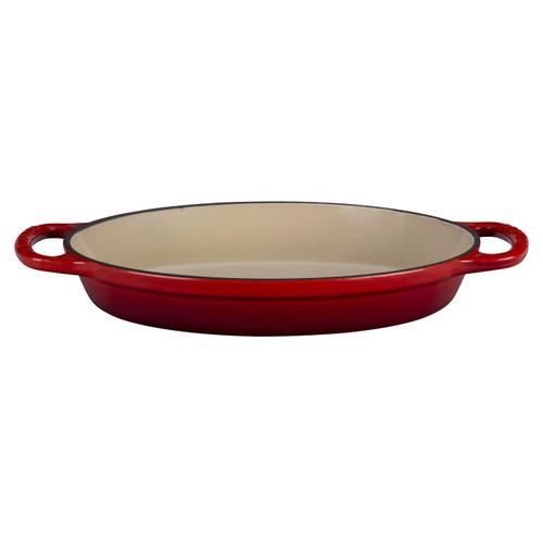 Le Creuset 1.4L (1.5QT) Cherry Cast Iron Signature Oval Baker - LS2088-2867
