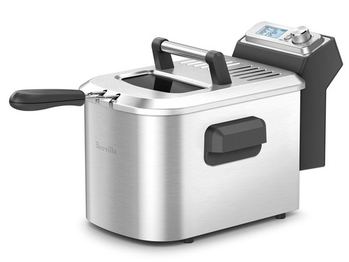 Breville - Smart Fryer 4 Quart Deep Fryer - BREBDFS500X