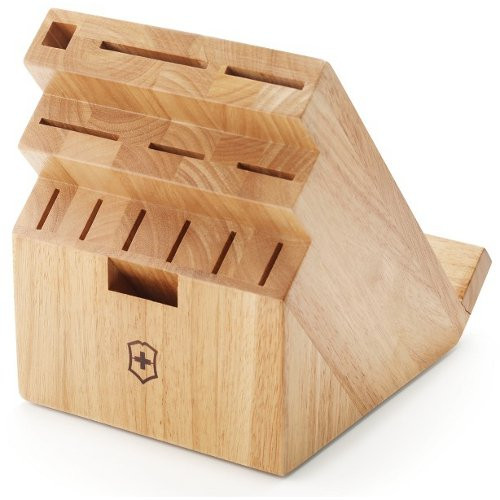 Victorinox - 11 Slot Light Wood Swivel Block