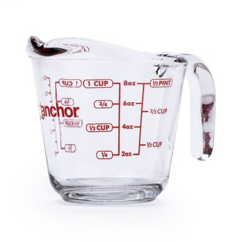 Anchor Hocking - 2 Cup (.5L) Glass Measuring Cup - 55177OL