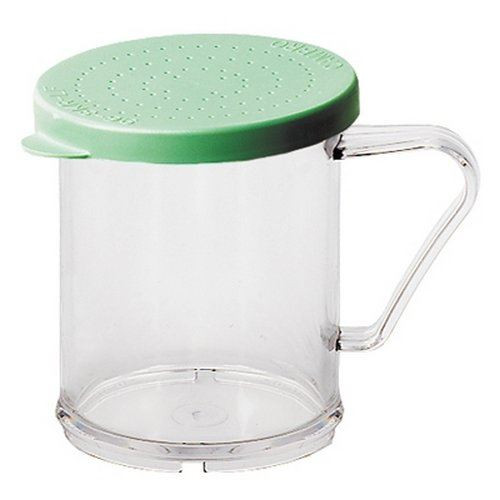 Cambro - Dredger with Green Fine Ground Lid - 96SKRF