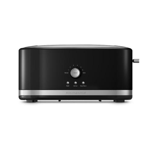 KitchenAid 4 Slice Long Slot Toaster with High Lift Lever - KMT4116OB