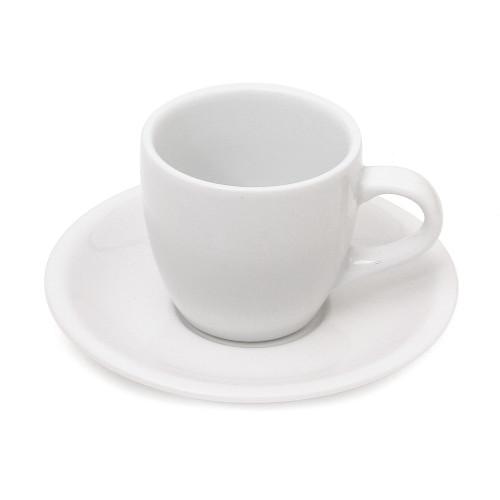 WFE 5 oz White Ceramic Espresso Cup - X720