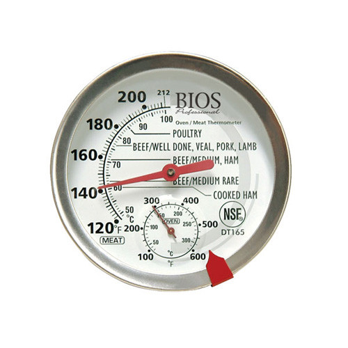 "BIOS - 3"" Dial Meat/Oven Thermometer - DT165"