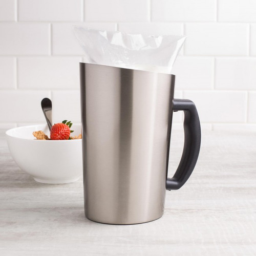 Crown - Milk Server, Stainless For 1L Milk Bag - 40041