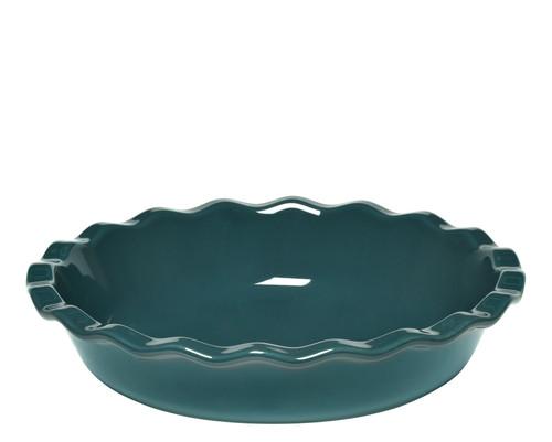 Emile Henry - Feu Doux (Bleu Pavot) Pie Dish - 91976131