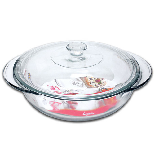 Anchor Hocking - 2L Round Casserole Dish with Lid - 67525FK