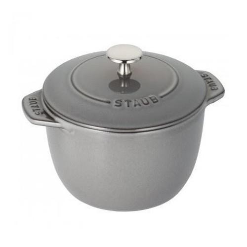 Staub - 0.81QT Grey Petite Rice Cocotte - 40509-702