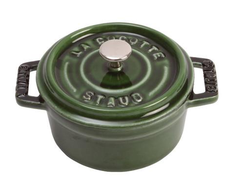 Staub - 0.25QT Basil Mini Round Cocotte - 40509-804