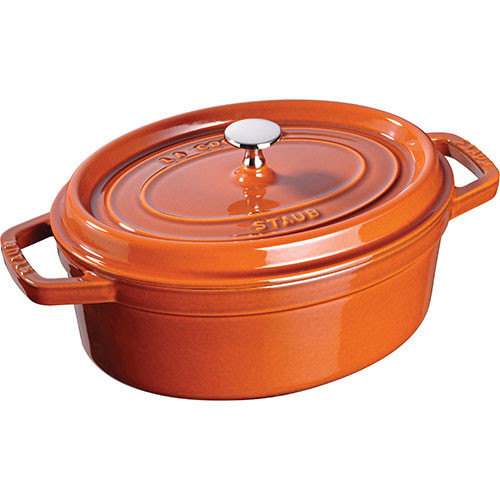 Staub - 5.7QT Cinnamon Oval Cocotte - 40511-300