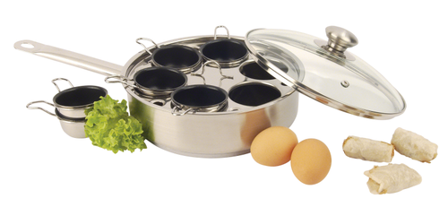 Demeyere - Resto 1.8QT Egg Poacher with Lid - 40850-305
