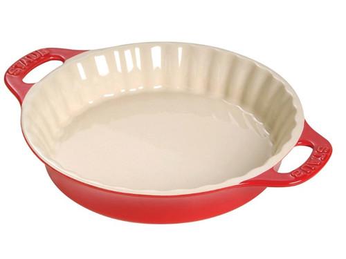 "Staub - Cherry 11"" Ceramic Pie Dish - 40511-167"