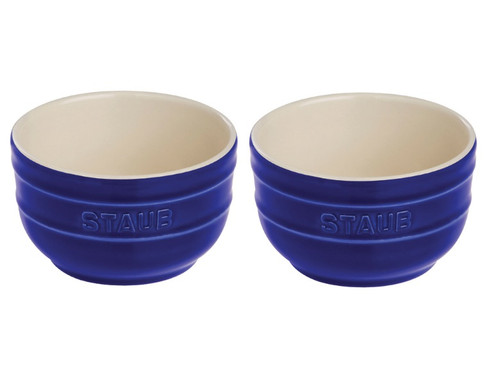 Staub - Blue 2-pc Ceramic Prep Bowl Set - 40511-134