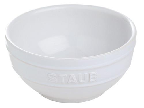 """Staub - White 6.5"""" Universal Bowl - 40511-128"""