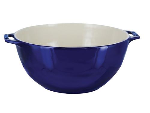 """Staub - Blue 9.5"""" Serving Bowl - 40511-455"""