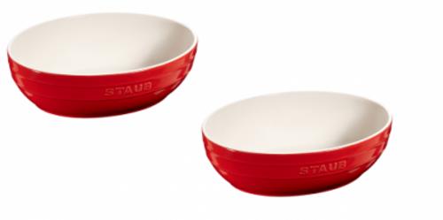 Staub - Cherry 2-pc Ceramic Multi-Bowl Set - 40511-571