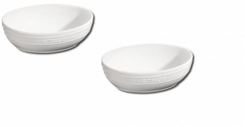 Staub - White 2-pc Ceramic Multi-Bowl Set - 40511-574