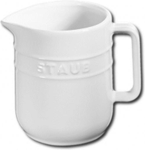 Staub - White 0.25qt Ceramic Creamer - 40511-807