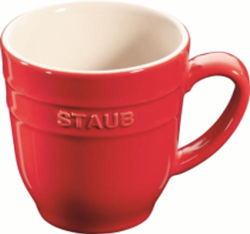Staub - Cherry 0.35L Ceramic Mug - 40511-565