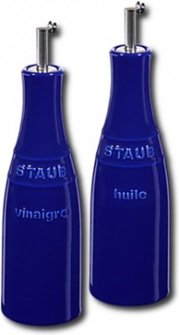 Staub - Blue Ceramic Oil & Vinegar Set - 40511-789