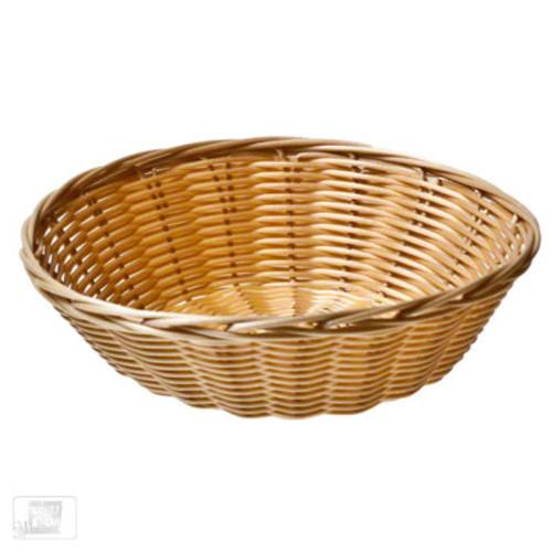 """Tablecraft - 8.25"""" x 2.25"""" Round Natural Basket - 1175W"""