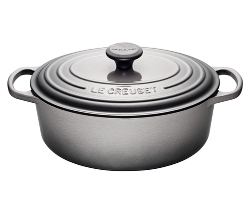 Le Creuset - 6.3 L (6.75 QT) Oyster French Oval Dutch Oven