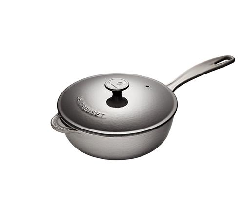 Le Creuset - 2 L (2.25 QT) Oyster Saucier Pan
