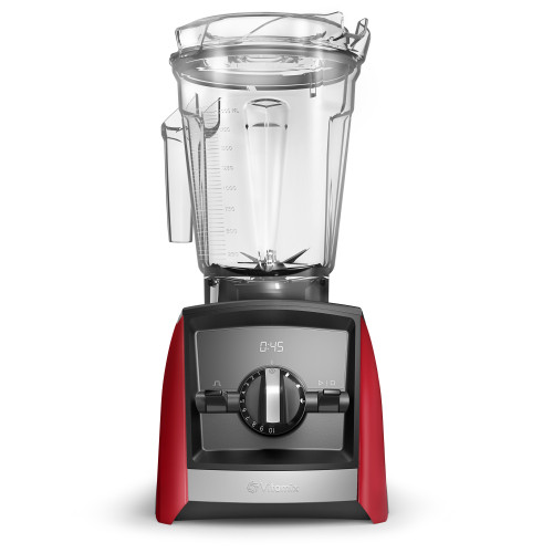 Vitamix - Ascent Series A2500 Red Blender W/ 3 Program Settings - 062349