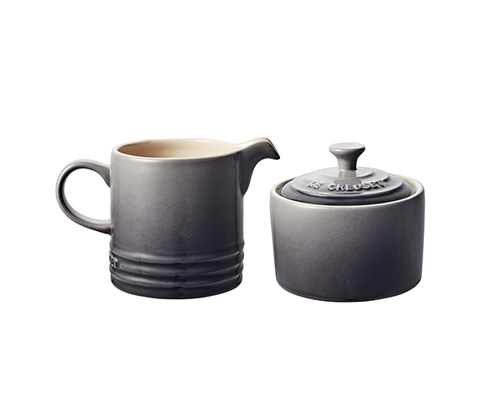 Le Creuset - Oyster Cream and Sugar Set