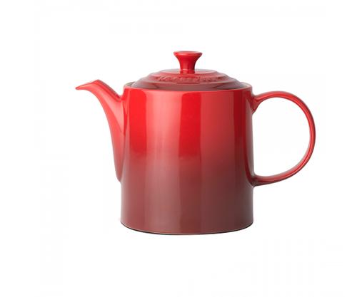 Le Creuset - 1.3L (4 cup) Cherry Grand Teapot