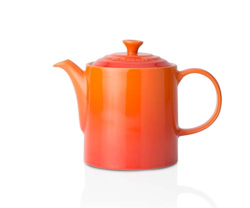 Le Creuset - 1.3L (4 cup) Flame Grand Teapot