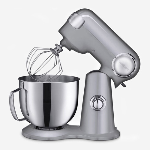Cuisinart - 5.5QT (5.2L) Silver Precision Master Stand Mixer