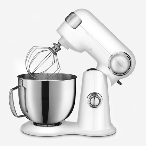 Cuisinart - 5.5QT (5.2L) White Precision Master Stand Mixer White