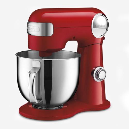 Cuisinart - 5.5QT (5.2L) Red Precision Master Stand Mixer