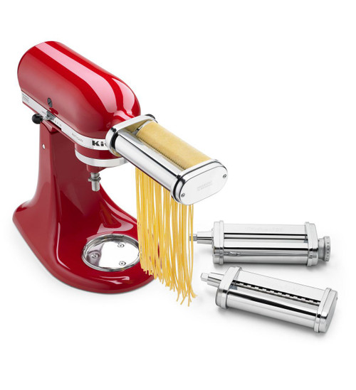 KitchenAid - 3-Piece Pasta Roller & Cutter Set Attachment