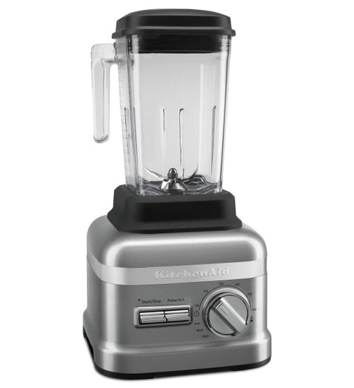 KitchenAid - Commercial Series 3.5HP Blender Silver - KSBC1B0CU