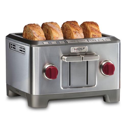 Wolf - Four Slice Toaster - ICBWGTR104S-C