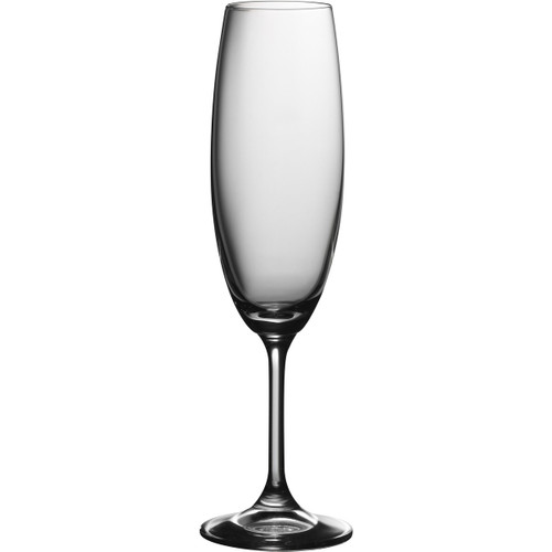 Trudeau - Serene 8oz Champagne Flutes, Set of 6