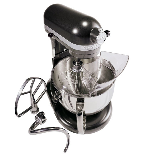 KitchenAid - Dark Pewter Pro 600 6QT Bowl-Lift Stand Mixer - KP26M1XDP