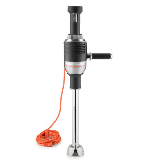 "KitchenAid - Onyx Black 400 Series 1HP Commercial 18"" Immersion Blender - KHBC418OB"