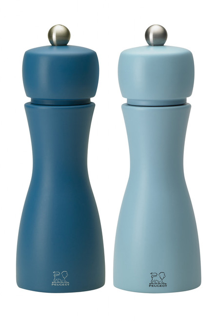 "Peugeot - 6"" (15cm) Tahiti Summer Duo Pepper & Salt Mill Set - 233279"