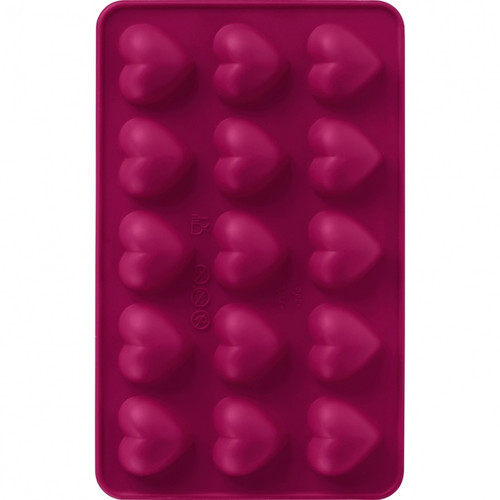 Trudeau - Silicone Chocolate Heart Molds (Set of 2)