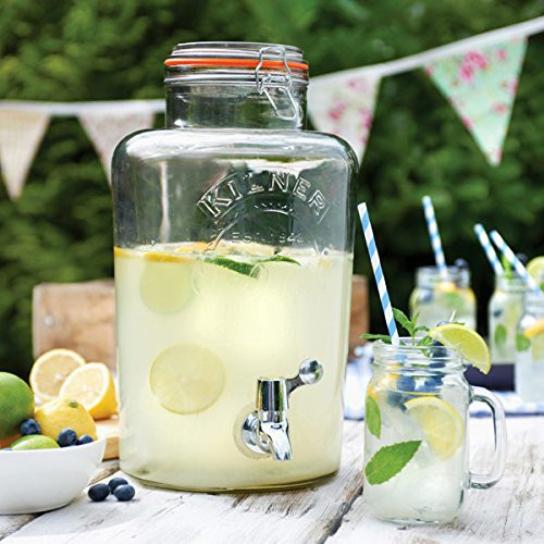Kilner - 8L Glass Drinks Dispenser - KLN20117
